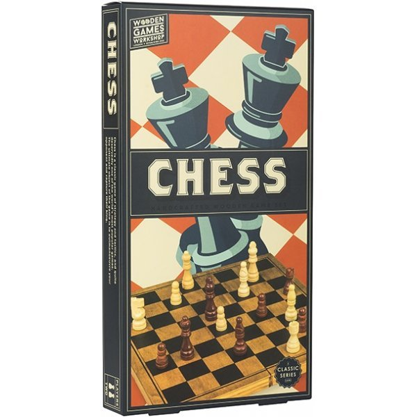 WOODEN GAME CHESS PUZZLE PROFESSOR